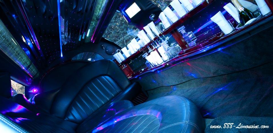 Intérieur limousine