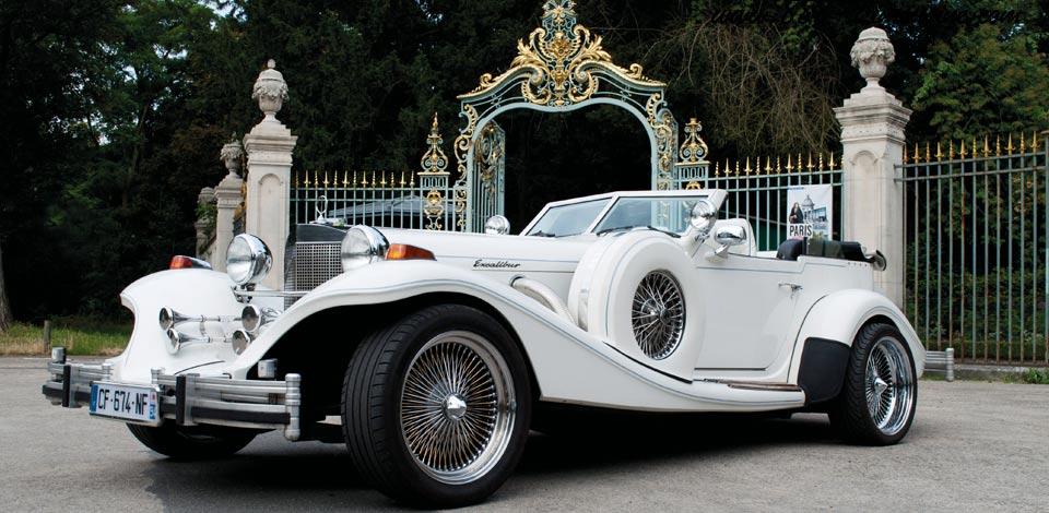 mariage en excalibur location de limousine excalibur pour mariage paris avec chauffeur. Black Bedroom Furniture Sets. Home Design Ideas