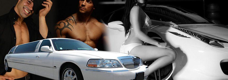 Soirée Striptease en limousine