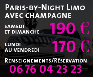 Location limousine Paris By Night avec Champagne