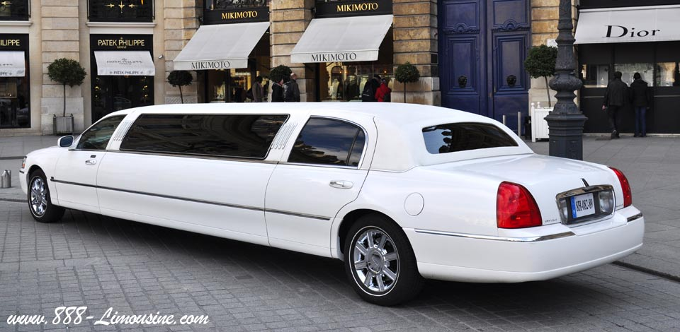Location Lincoln limousine Paris