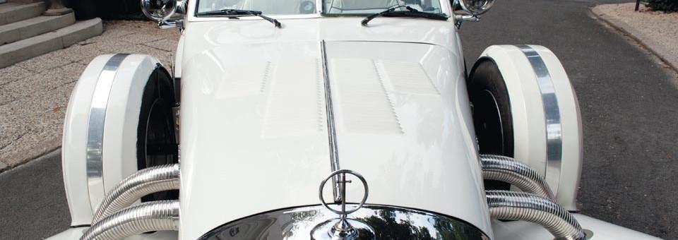 Location cabriolet Excalibur pour votre mariage