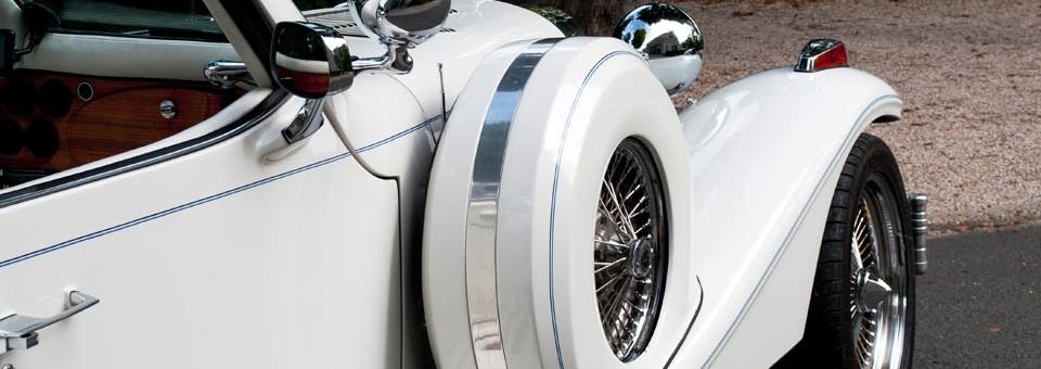 Mariage Excalibur cabriolet