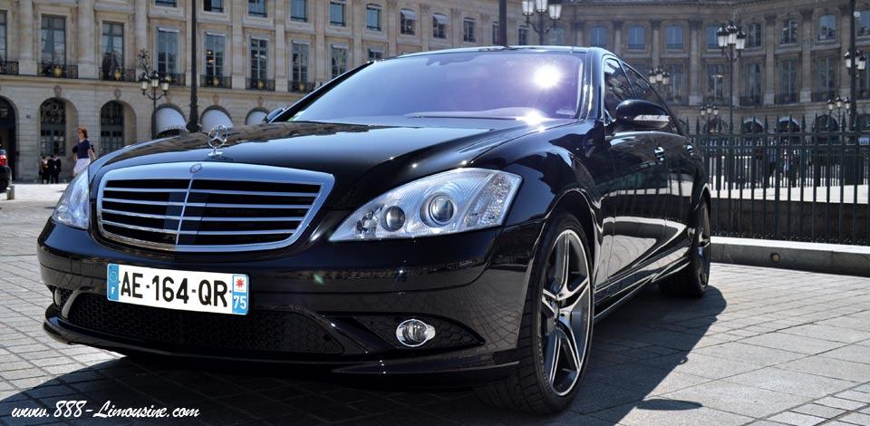 Location Mercedes avec chauffeur