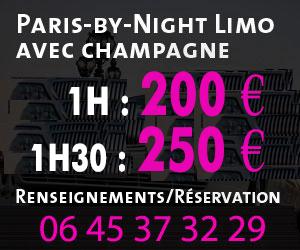 Location limousine voiture prestige à Paris